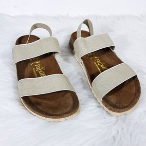 Papillio by Birkenstock Gold Metallic Sandals